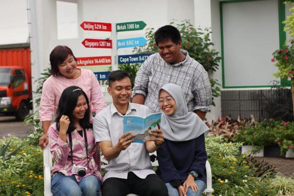Mengunjungi Istana Peradaban Balai Pustaka bersama para blogger